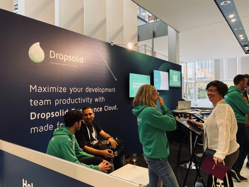 Dropsolid at Drupalcon